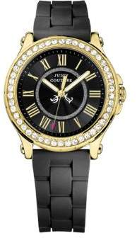 Juicy Couture Ladies Pedigree Watch with Heart-Tipped Hand $175 thestylecure.com