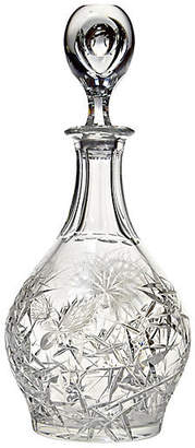 One Kings Lane Vintage Svarc Crystal Decanter