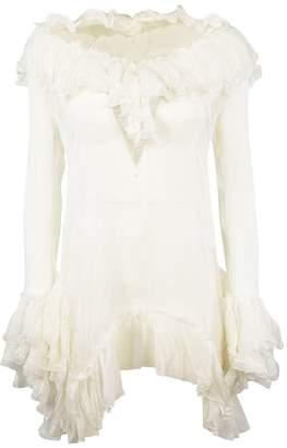 Ermanno Scervino Frilled Dress