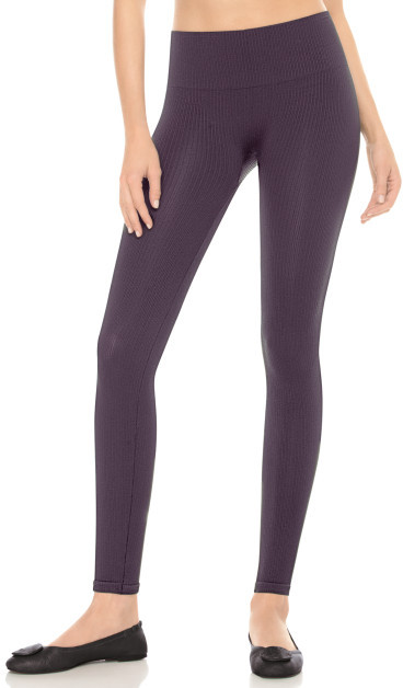 Spanx Look-at-Me Leggings, Ribbed Textured Leggings