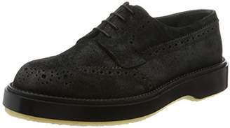 Adieu [アデュー レースアップ 82C WAXED SUEDE 82C Black(Black/40)