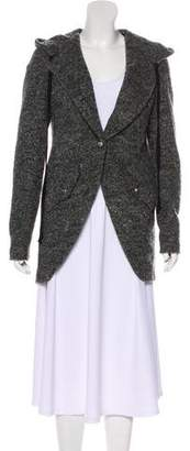 Robert Rodriguez Wool-Blend Short Coat