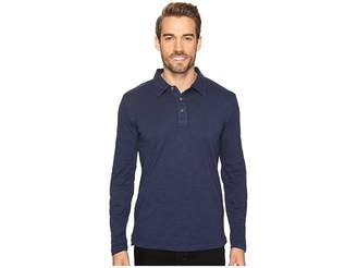 Mod-o-doc Salt Point Long Sleeve Slub Jersey Polo