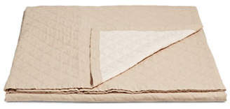 Martha Stewart Broadstitch Diamond Linen-Cotton Quilt