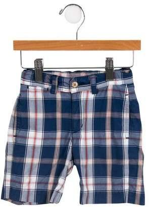 Baby CZ Boys' Plaid Shorts