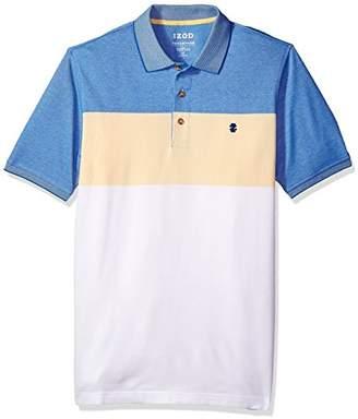 Izod Men's Tall Size Short Sleeve Advantage Stripe Polo (Big Slim)