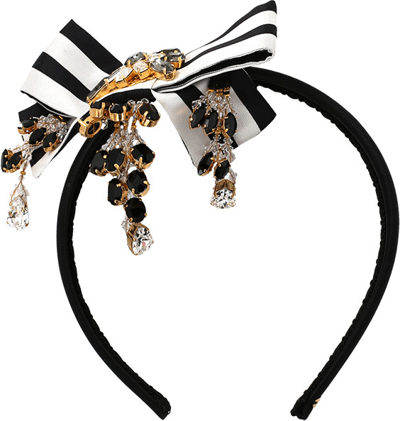 Dolce & GabbanaDOLCE & GABBANA Bow Headband