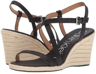 Calvin Klein Bellemine Espadrille Wedge Women's Wedge Shoes