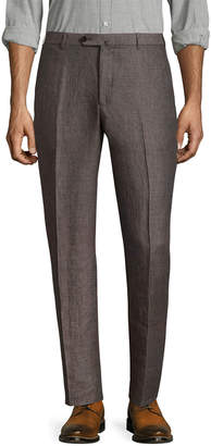 Isaia Woven Buttoned Trouser