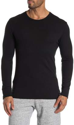 Calvin Klein Luxe Crew Neck Long Sleeve Tee