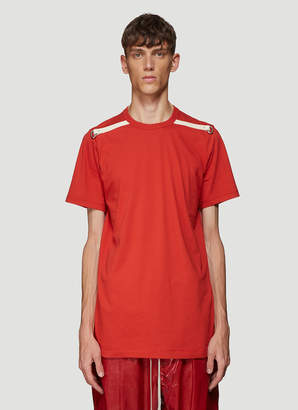 Rick Owens Level T-Shirt in Red