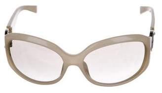 Giorgio Armani Gradient Round Sunglasses