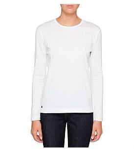 Paul Smith Womens Long Sleeve T-Shirt W Rainbow