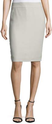 Armani Collezioni Techno Cady Pencil Skirt
