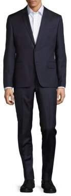 Pierre Balmain Pinstripe Wool Suit