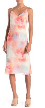 Cynthia Steffe CeCe by Jayme Sleeveless Colorful Print Dress