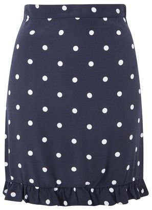 Nobodys child **polka dot frilled mini skirt