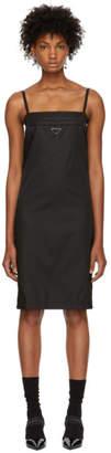Prada Black Strappy Short Dress