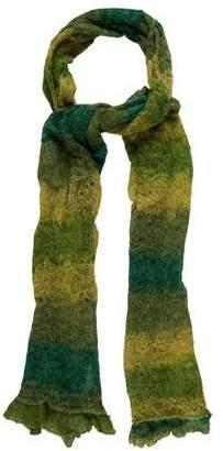 Diane von Furstenberg Knit Abstract Print Scarf