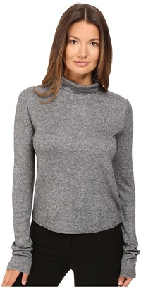 See by Chloe Jersey Turtleneck with Sheer Back $195 thestylecure.com