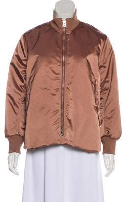 Acne Studios Satin Bomber Jacket