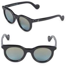 Moncler 47MM Round Sunglasses