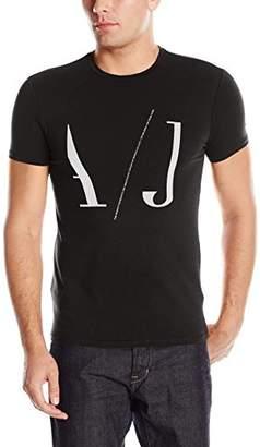 Armani Jeans Men's Crew Neck Logo Tee