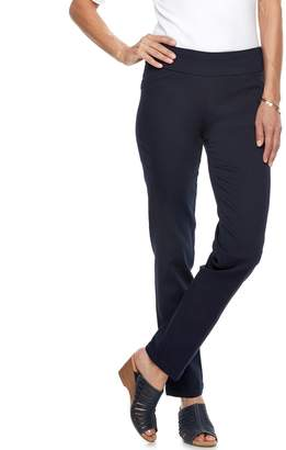 Croft & Barrow Women's Perfectly Slimming Straight-Leg Pants