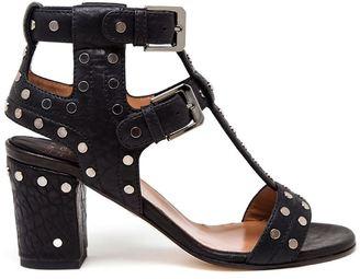 Laurence Dacade studded block heel sandals $840 thestylecure.com