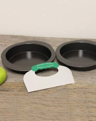 Berghoff Round Cake Pans With Cutting Tool Set - Gray