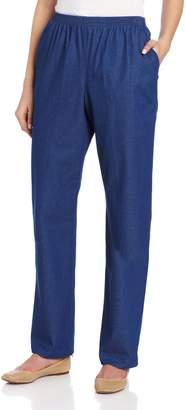 Alfred Dunner Women's Short Length Pant
