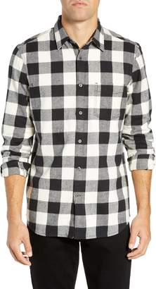 French Connection Kahama Regular Fit Flannel Sport Shirt