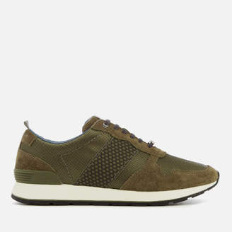 Ted Baker Men's Hebey Runner Style Trainers - Dark Green