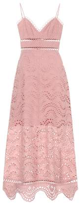 Zimmermann Exclusive to mytheresa.com embroidered cotton voile dress