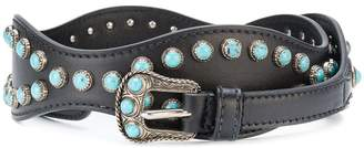 Prada cabochon studded belt