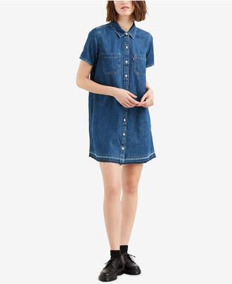 Levi's Denim Shirtdress