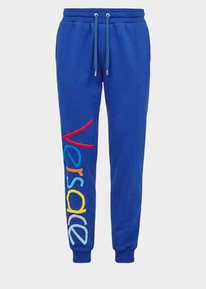 Versace Multicolor Vintage Logo Track pants