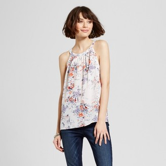 Eclair Women's Floral Printed Tank $34.99 thestylecure.com