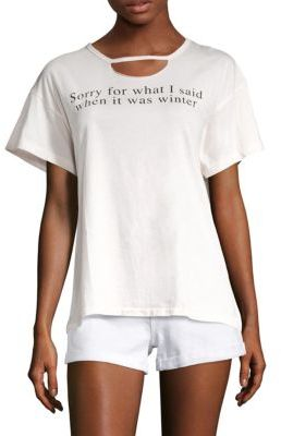 Wildfox Sun Kissed Sorry For What I Said Tee $64 thestylecure.com