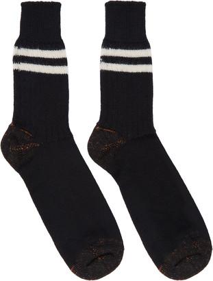 Junya Watanabe Off-White Wool Socks $40 thestylecure.com