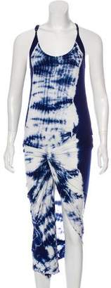 Young Fabulous & Broke Tie-Dye Midi Dress