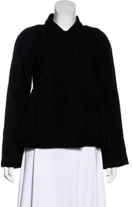 Sonia Rykiel Sonia by Double-Breasted Short Coat