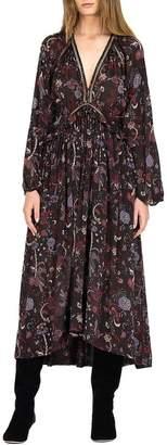 Magali Pascal Drew Maxi Dress Black Phoenix