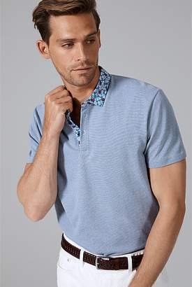 Country Road Woven Collar Polo