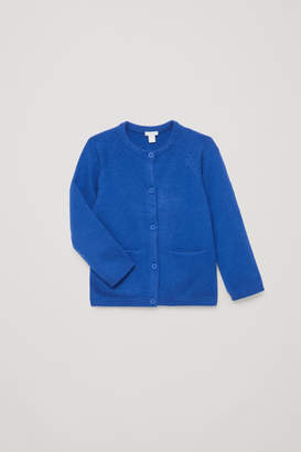 Cos CASHMERE CARDIGAN WITH POCKETS