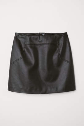 H&M Short Skirt - Black