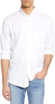 Billy Reid Tuscumbia Standard Fit Cotton & Cashmere Sport Shirt