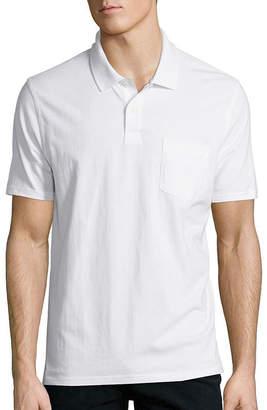 ST. JOHN'S BAY Short-Sleeve Pocket Polo Shirt