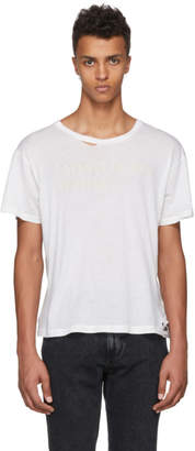 Enfants Riches Deprimes SSENSE Exclusive White Classic Logo T-Shirt