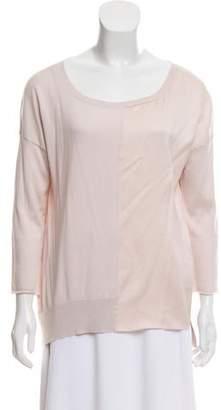 Fabiana Filippi Silk Blend Knitted Top
